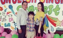 Kim Hiền tự hào khoe con trai làm MC song ngữ