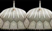 Choáng ngợp trước váy cưới đính gần 1 triệu tinh thể