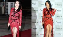 Sao nữ Hàn gây phản cảm khi dùng dây thừng quấn quanh 'vòng 1'