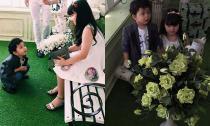 Hậu trường chụp ảnh cực dễ thương của con trai Trương Quỳnh Anh