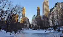 Vẻ đẹp của nước Mỹ trong mùa đông băng giá