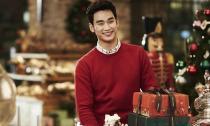 Kim Soo Hyun ấm áp đón Noel sớm