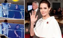 Angelina Jolie 'lẻ bóng' tại sự kiện sau khi cãi nhau với Brad Pitt