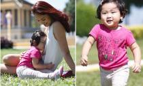 HH Hương Giang hạnh phúc khi con gái nói 'yêu mẹ'