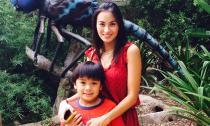 Vợ cũ khoe ảnh tình cảm bên con trai ngày Lam Trường tái hôn