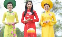 Ngắm 38 nhan sắc Hoa hậu Việt Nam tuyệt xinh cùng áo dài