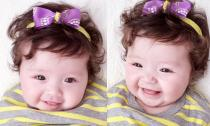 Mê mẩn với nụ cười thiên thần của con gái Elly Trần