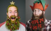 12 kiểu râu hot nhất dịp Giáng sinh