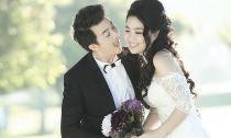 Ảnh cưới như ở 'chốn thiên đường' của diễn viên Lê Khánh