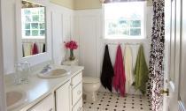 Phòng tắm buồn tẻ trở nên đẹp rạng ngời sau cải tạo