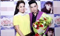 Nhật Kim Anh tươi tắn bên Quang Hà trước ngày cưới