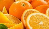 Trắng da đơn giản với trái cam