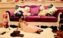 Học sao Việt bày phòng ngủ dễ thương mà an toàn cho bé