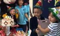 Bé Jacky Minh Trí tưng bừng đón sinh nhật ở trường