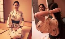 Mai Phương Thúy diện kimono xinh hơn gái Nhật