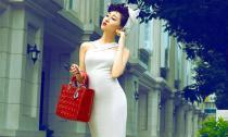 Hoa hậu Huỳnh Thúy Anh ngày càng đẹp quyến rũ