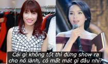 Pha Lê khuyên Hoa hậu Kỳ Duyên: 'Tốt khoe xấu che'