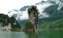 Ghé thăm 'tiên cảnh' giữa lòng thủy điện Tuyên Quang