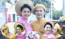 Tuấn Khải rạng rỡ rước cô dâu Lê Khánh từ sáng sớm