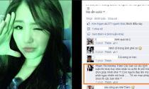 Hương Tràm gây sốc với lời cãi nhau tay đôi trên facebook