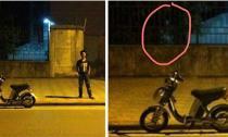 Xôn xao bức ảnh tự sướng chụp được bóng ma ở Kim Mã