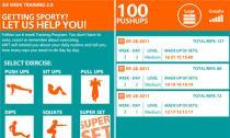 Sức khỏe tốt hơn mỗi ngày với ứng dụng 6 Week Training