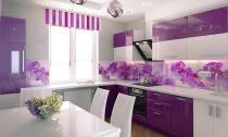 Những thiết kế bếp màu tím đẹp ngoài sức tưởng tượng