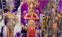 Lộ diện top 5 trang phục dân tộc 'Hoa hậu Hoàn vũ 2014'