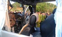 Hiện trường vụ tai nạn thảm khốc khiến 9 người chết
