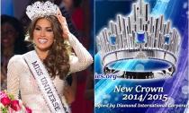 Chiêm ngưỡng vương miện gần 6,5 tỷ đồng của 'Hoa hậu Hoàn vũ 2014'
