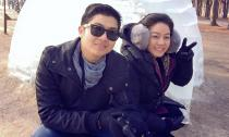 Vợ chồng Nhật Kim Anh đi nghỉ trăng mật muộn ở Hàn Quốc