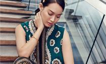 Shin Min Ah khoe sắc kiêu kỳ với trang phục lộng lẫy