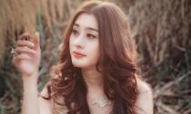 Khanh Chi Lâm làm công chúa đẹp mơ màng trong ánh chiều