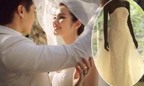 Hé lộ 4 bộ váy cưới đính pha lê Trúc Diễm mặc trong lễ cưới