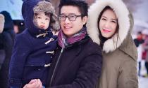 Dương Thùy Linh hạnh phúc bên chồng con ở Nhật