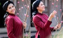 Hoa hậu Nguyễn Thị Loan hóa thân thành cô đào hát xoan