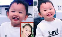 Con trai Lã Thanh Huyền gây 'sốt' với nụ cười siêu dễ thương