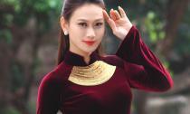 Á hậu Đại dương - Vân Quỳnh khoe dáng xuân sắc với áo dài