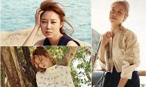 Gong Hyo Jin thả dáng đẹp mê hồn tại bờ biển Nha Trang