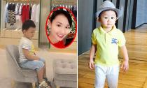 Lã Thanh Huyền đưa con trai đi mua sắm hàng hiệu