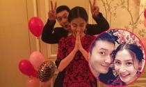 Huỳnh Hiểu Minh 'nhí nhố' trong ngày sinh nhật Angela Baby
