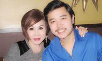 Vũ Hoàng Việt và bồ tỷ phú tình cảm trong tiệc tân niên tại Mỹ