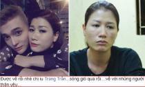 Trang Trần đã được trở về nhà sau khi bị tạm giam