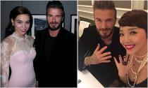 Hà Hồ và Tóc Tiên được Beckham đón tiếp nhiệt tình ở Anh