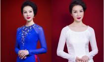 MC Thanh Mai xúng xính áo dài chào đón ngày 8/3