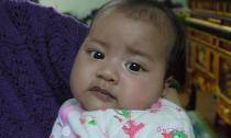 Hà Nội: Bé gái biết nói từ lúc hơn 1 tháng tuổi