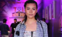 Lại Thanh Hương ăn diện bụi bặm đi thi diễn viên