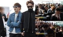 EXO bị fans vây kín khi chuẩn bị sang Việt Nam