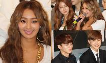 EXO, Sistar cười rạng rỡ và thân thiện trong buổi họp báo