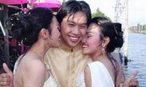 Chàng trai cưới cả hai chị em sinh đôi làm vợ